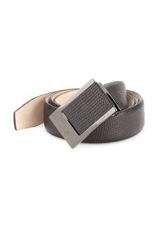 Bruno Magli Pebble Leather Belt