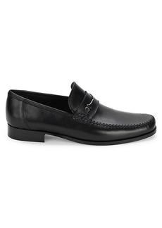 Bruno Magli Pittore Nappa Leather Bit Loafers