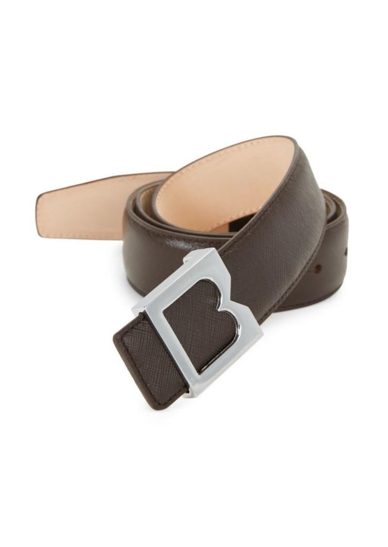 Bruno Magli Textured Leather Belt