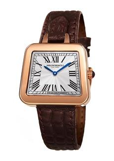 Bruno Magli Women's Swiss Made Ronda Quartz Normtech 751 Emma Watch, 34mm