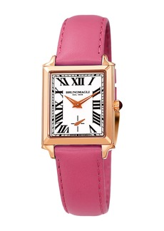 Bruno Magli Women's Valentina Swiss Quartz Leather Strap Watch, 24mm