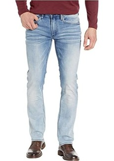 Buffalo Jeans Ash X Slim Fit Jeans in Crinkled & Bleached