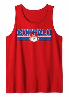 Buffalo Jeans Buffalo   Vintage Football New York Bills Mafia Game Day Tank Top