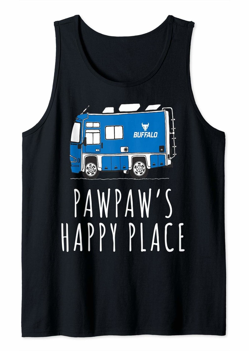 Buffalo Jeans Buffalo Bulls They Call Me Pawpaw Student Game day Graphic Tank Top