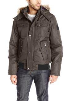 Buffalo Jeans Buffalo by David Bitton Men's Brushed Radiance Hooded Jacket