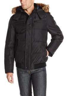 Buffalo Jeans Buffalo by David Bitton Men's Hooded Jacket