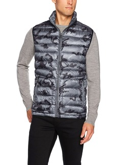 Buffalo Jeans Buffalo by David Bitton Men's Lightweight Printed Vest  M