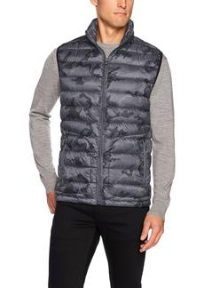 Buffalo Jeans Buffalo by David Bitton Men's Lightweight Printed Vest  XL