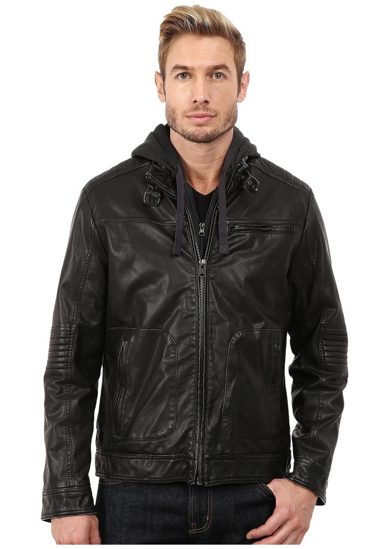 Buffalo Jeans Buffalo David Bitton 3-Pocket Jacket w/ Hood & Bib