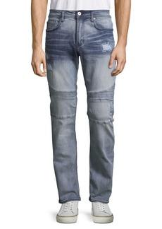 Buffalo Jeans BUFFALO David Bitton Ash-X Distressed Skinny Jeans
