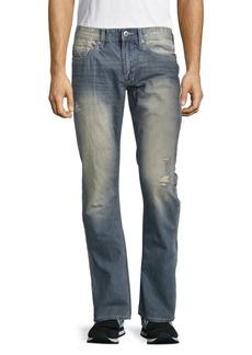 Buffalo Jeans BUFFALO David Bitton Bootcut Sanded Cotton Jeans