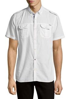 Buffalo Jeans Cotton Button-Down Shirt