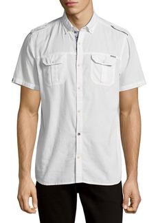 Buffalo Jeans BUFFALO David Bitton Cotton Button-Down Shirt