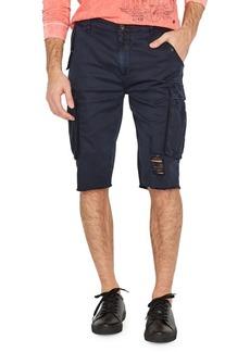Buffalo Jeans BUFFALO David Bitton Distressed Cargo Shorts