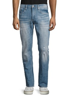 Buffalo Jeans BUFFALO David Bitton Distressed Slim-Fit Jeans