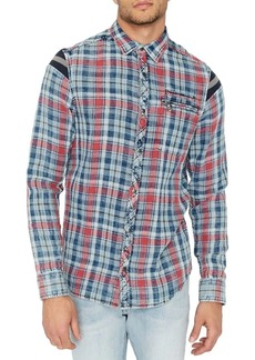 Buffalo Jeans BUFFALO David Bitton Double Face Plaid Button-Down Shirt