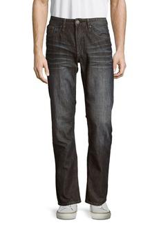 Buffalo Jeans BUFFALO David Bitton Driven Straight Cotton Jeans