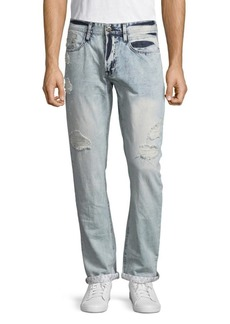 Buffalo Jeans Evan Slim-Fit Distressed Jeans