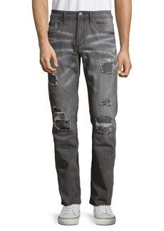 Buffalo Jeans BUFFALO David Bitton Evan-X Slim-Fit Distressed Jeans