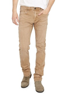 Buffalo Jeans BUFFALO David Bitton Evan-X Veined & Sanded Colored Slim Fit Jeans