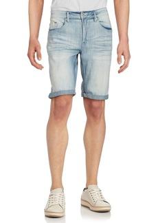 Buffalo Jeans BUFFALO David Bitton Faded Denim Shorts