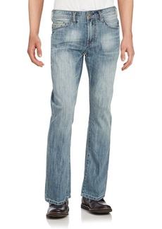 Buffalo Jeans BUFFALO David Bitton Five-Pocket Cotton Blend Denim Pants