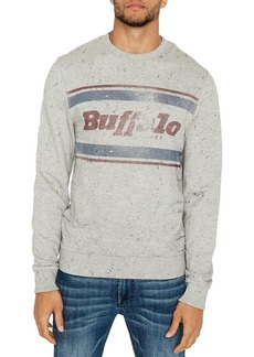 Buffalo Jeans BUFFALO David Bitton Fylage Graphic Cotton Sweatshirt