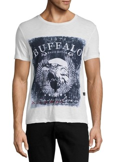 Buffalo Jeans BUFFALO David Bitton Graphic Pullover Cotton Tee