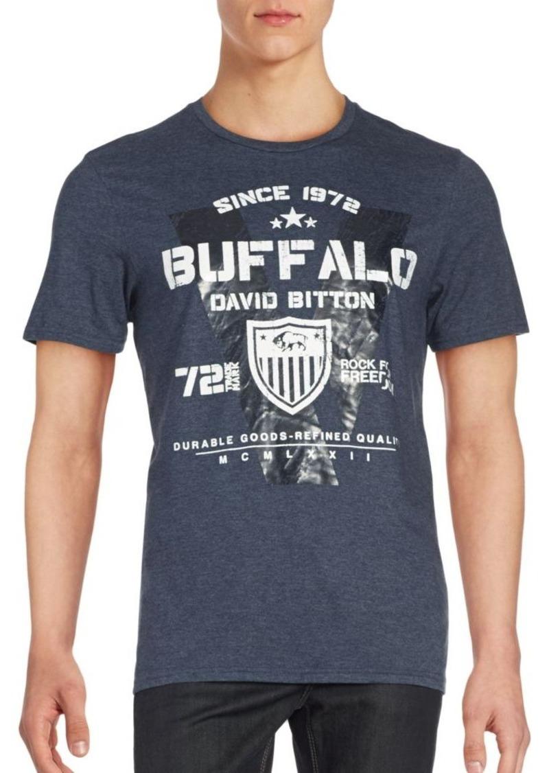 Buffalo Jeans BUFFALO David Bitton Graphic Short Sleeve Tee