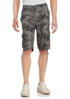Buffalo Jeans BUFFALO David Bitton Hansen Camo Cotton Shorts