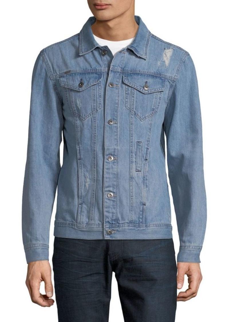 Buffalo Jeans BUFFALO David Bitton Jordan Distressed Denim Jacket