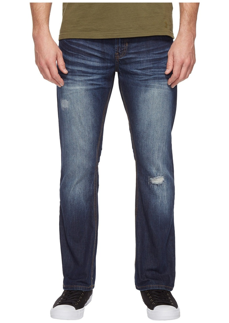 4bddb432a82 Buffalo Jeans King Slim Bootcut Jeans in Medium Repaired Wash | Jeans