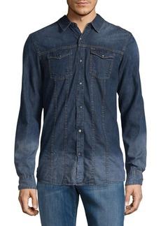 Buffalo Jeans BUFFALO David Bitton Long-Sleeve Casual Denim Shirt