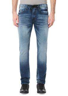 Buffalo Jeans BUFFALO David Bitton Max-X Whiskered Drawstring Skinny Jeans