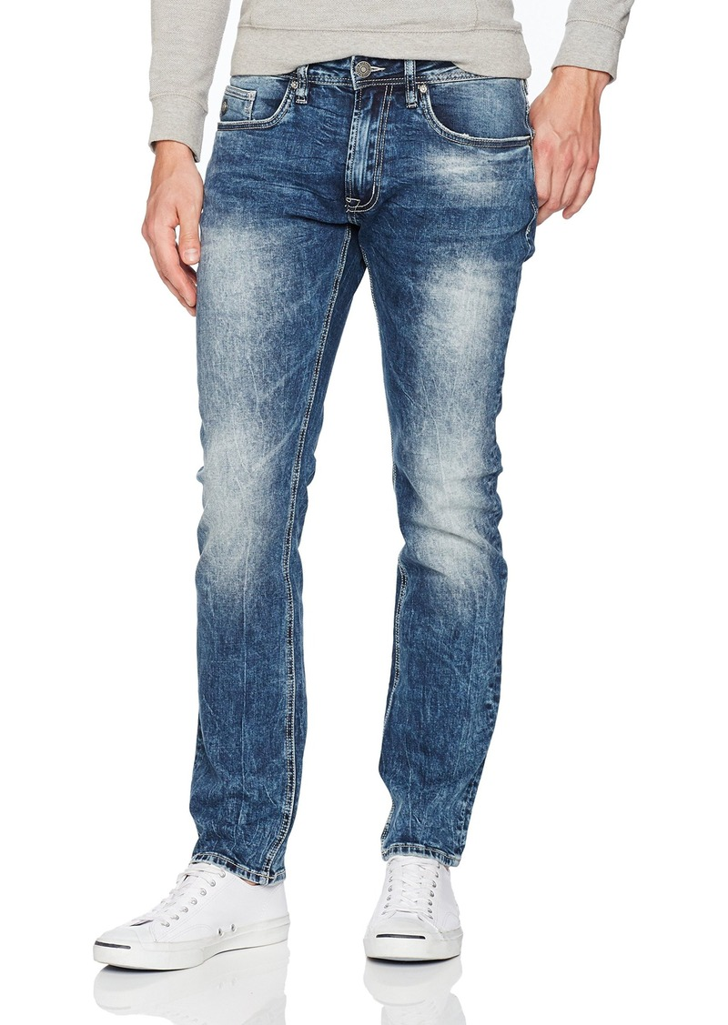 809f56b6 Buffalo David Bitton Men's Ash Skinny Fit Stretch Denim Fashion Jean in 30  Inseam 38 x 32