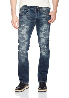 Buffalo Jeans Buffalo David Bitton Men's Ash-x Slim Fit Whiskered and Sanded Wash Fashion Denim Pant