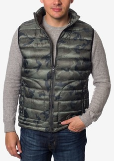 Buffalo Jeans Buffalo David Bitton Men's Big & Tall Quilted Camo Vest