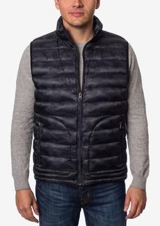 Buffalo Jeans Buffalo David Bitton Men's Big & Tall Quilted Camo Vest