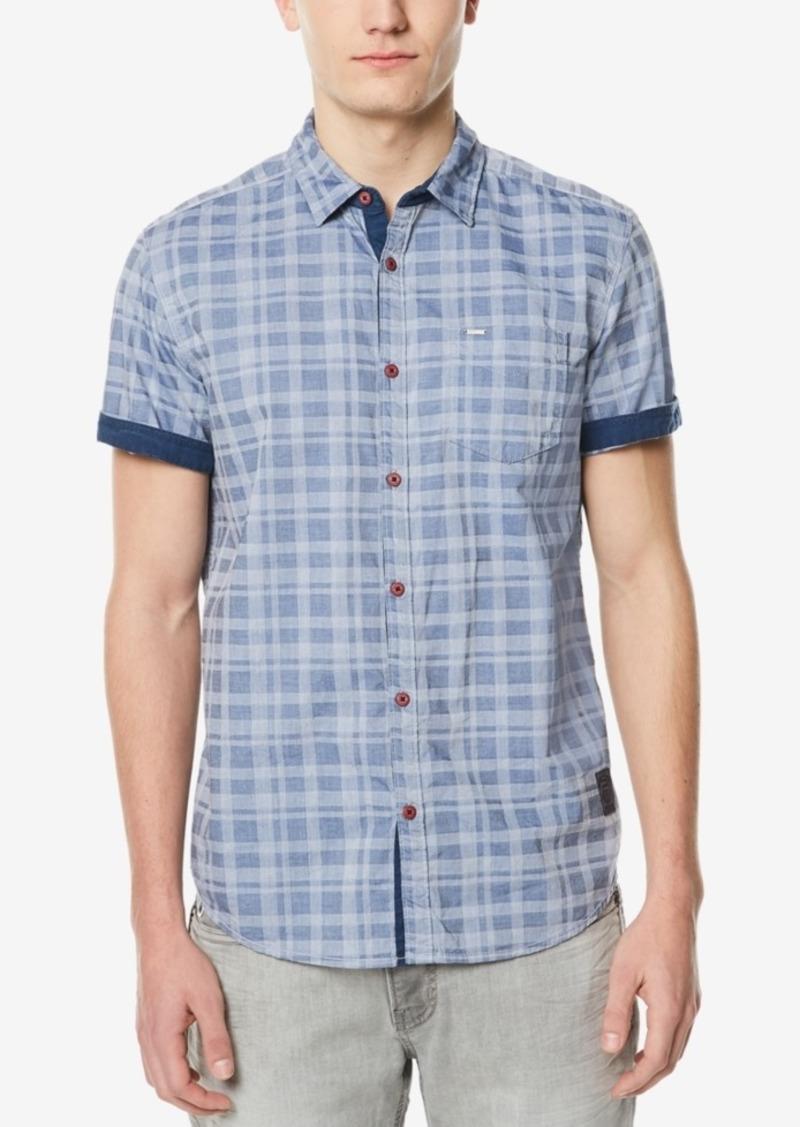 43a4b865 Buffalo David Bitton Men's Button-Down Jacquard Shirt