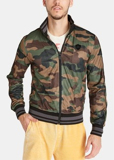 Buffalo Jeans Buffalo David Bitton Men's Camo Track Jacket