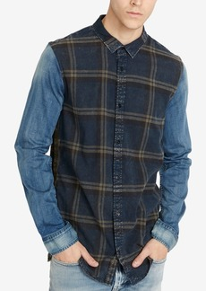 Buffalo Jeans Buffalo David Bitton Men's Classic Fit Plaid Sadrindo Shirt