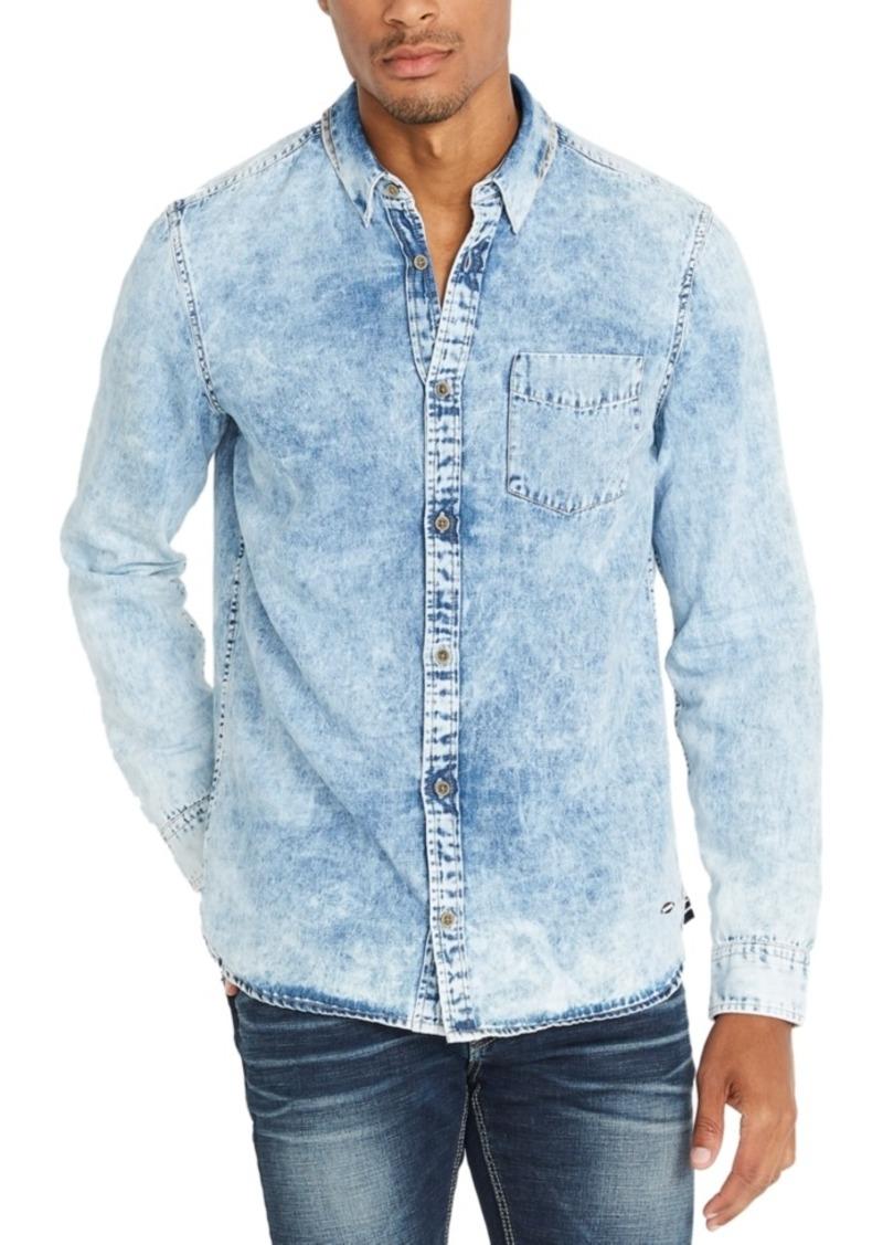 Buffalo Jeans Buffalo David Bitton Men's Denim Long-Sleeve Shirt