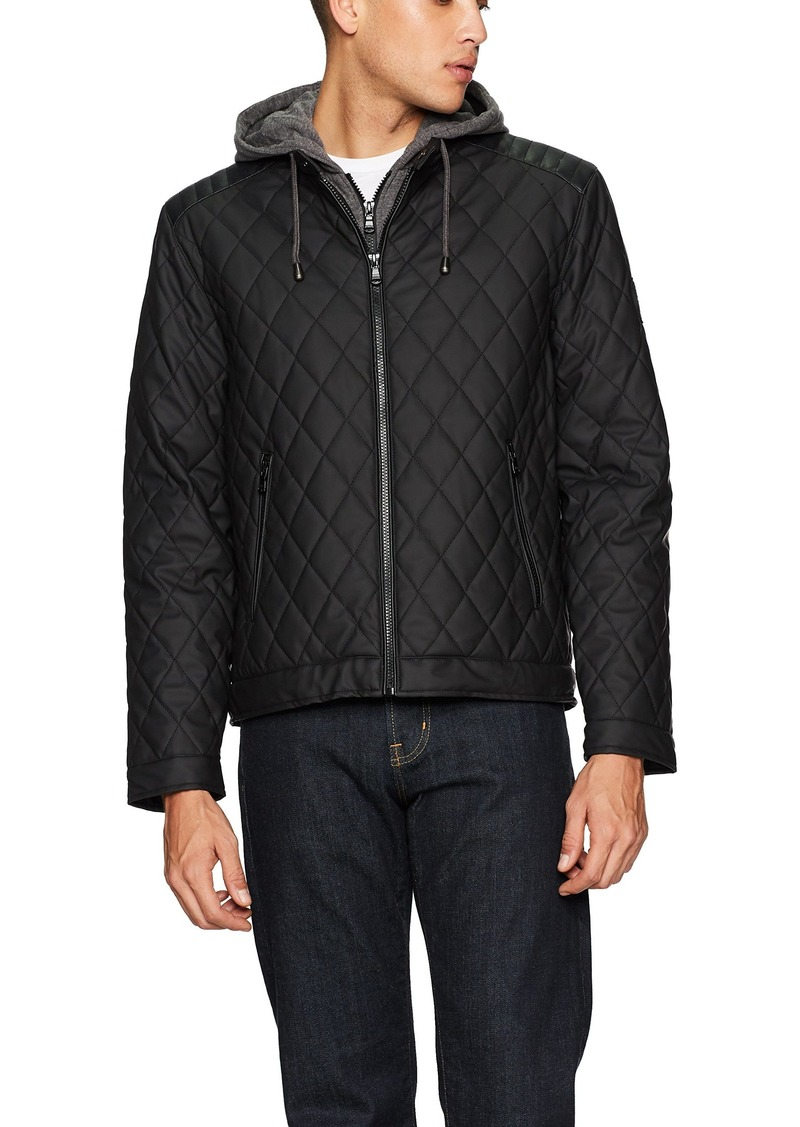 Mens Diamond Quilted Jacket For Sale