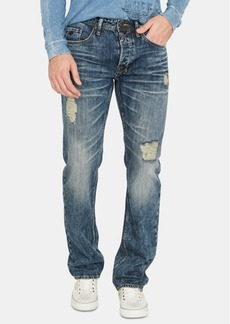 Buffalo Jeans Buffalo David Bitton Men's Driven Relaxed Fit Distressed Jeans