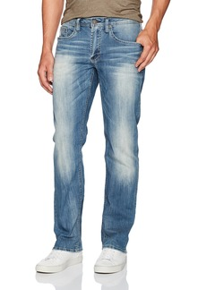 Buffalo Jeans Buffalo David Bitton Men's Driven Relaxed Straight Fit Denim Pant  36x32