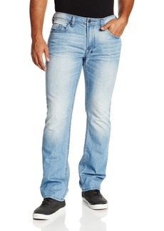 Buffalo Jeans Buffalo David Bitton Men's Driven Straight Leg Basic Jean Light And Crinkled Wash 36x30