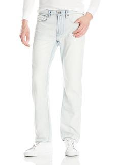Buffalo Jeans Buffalo David Bitton Men's Driven Straight Leg Fashion Denim Blue Jean  32x32