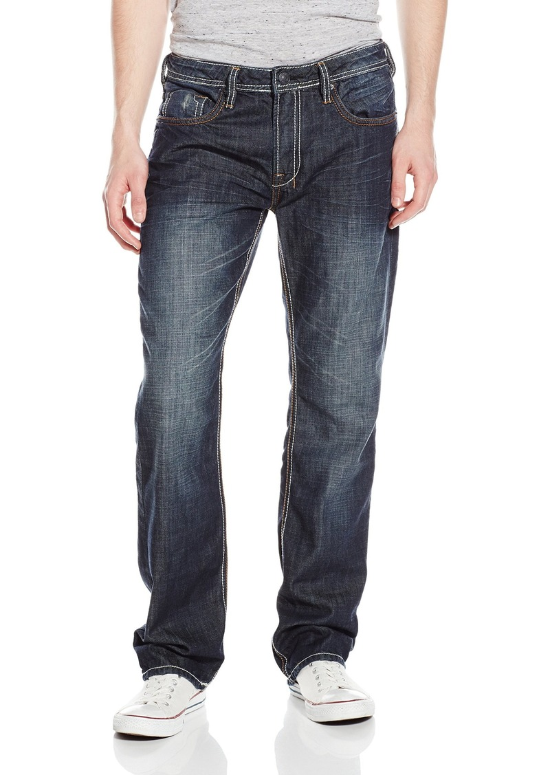 Buffalo David Bitton Mens Driven Straight-Leg Jean