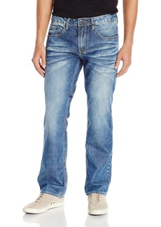 Buffalo Jeans Buffalo David Bitton Men's Driven Stright Leg Jean In Sanded Damaged and Repaired  34x30
