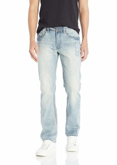 Buffalo Jeans Buffalo David Bitton Men's Driven X Relaxed Straight Fit Jean  33W X 32L